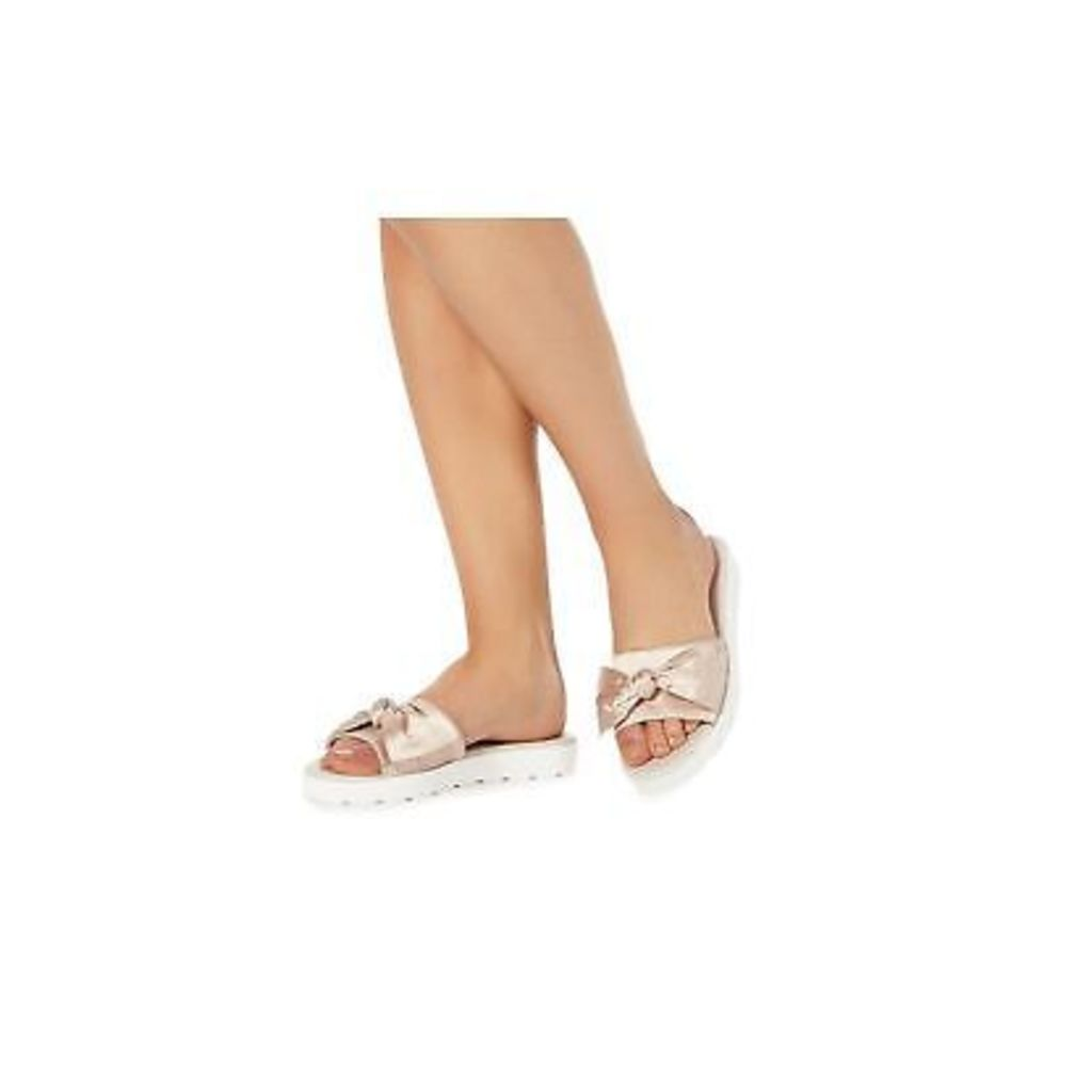 Faith Pink 'Jackie' Sliders From Debenhams