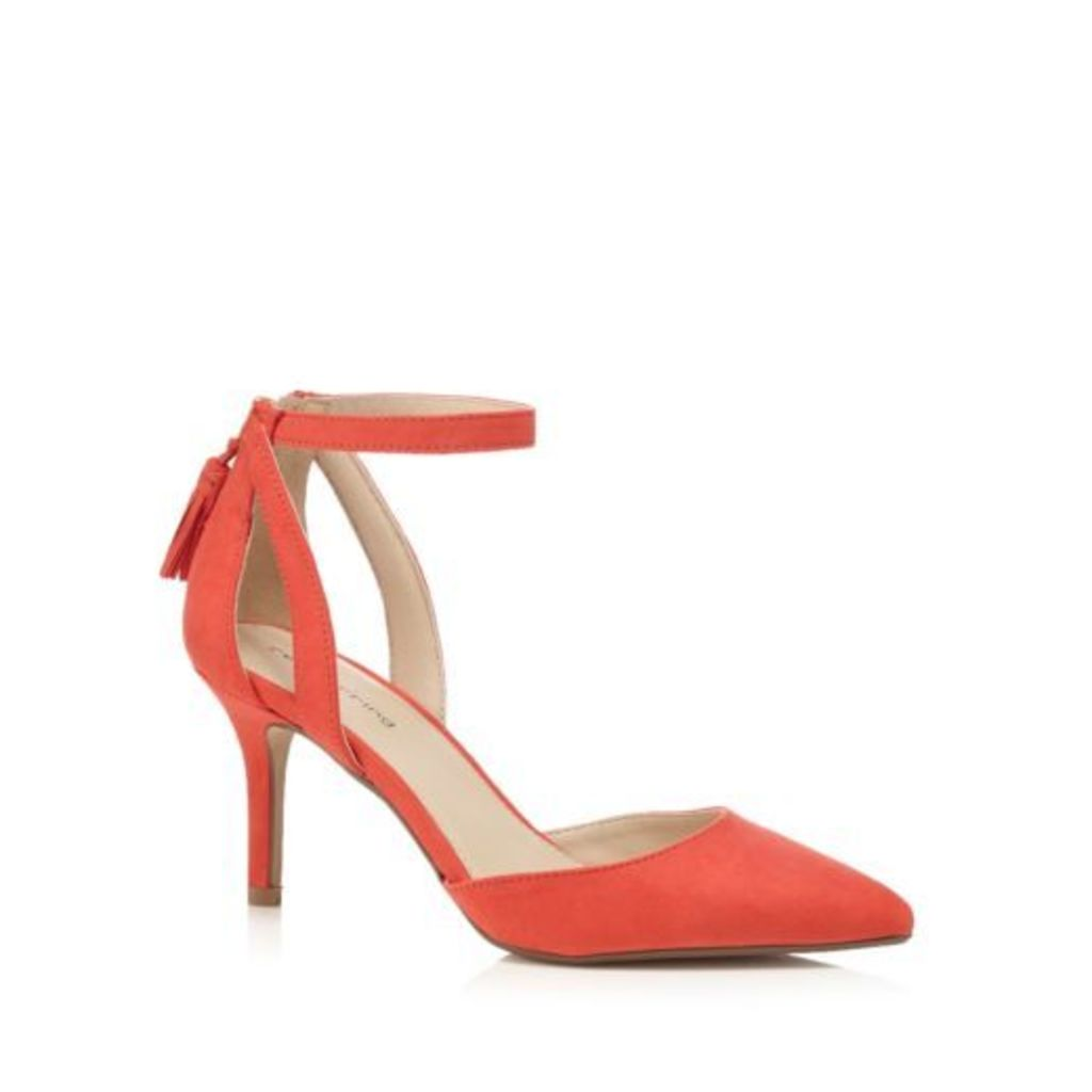 Red Herring Red Suedette High Stiletto Heel Court Shoes From Debenhams 5