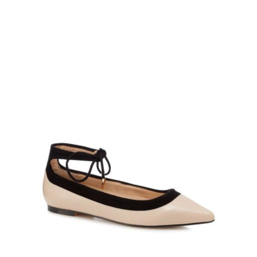 J By Jasper Conran Light Leather Pink Pointed Shoes From Debenhams 5