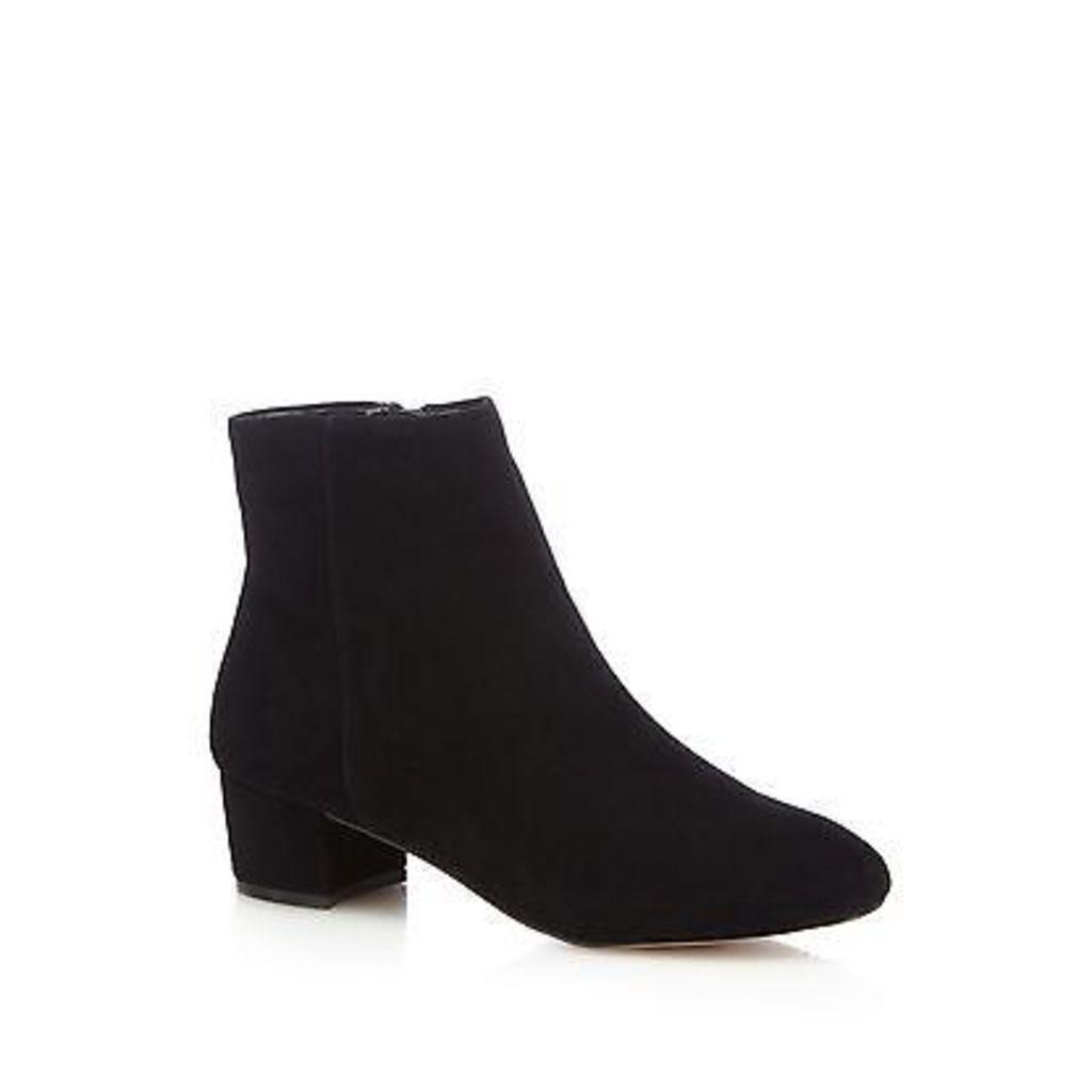 J By Jasper Conran Black 'Jasmin' Leather Ankle Boots From Debenhams
