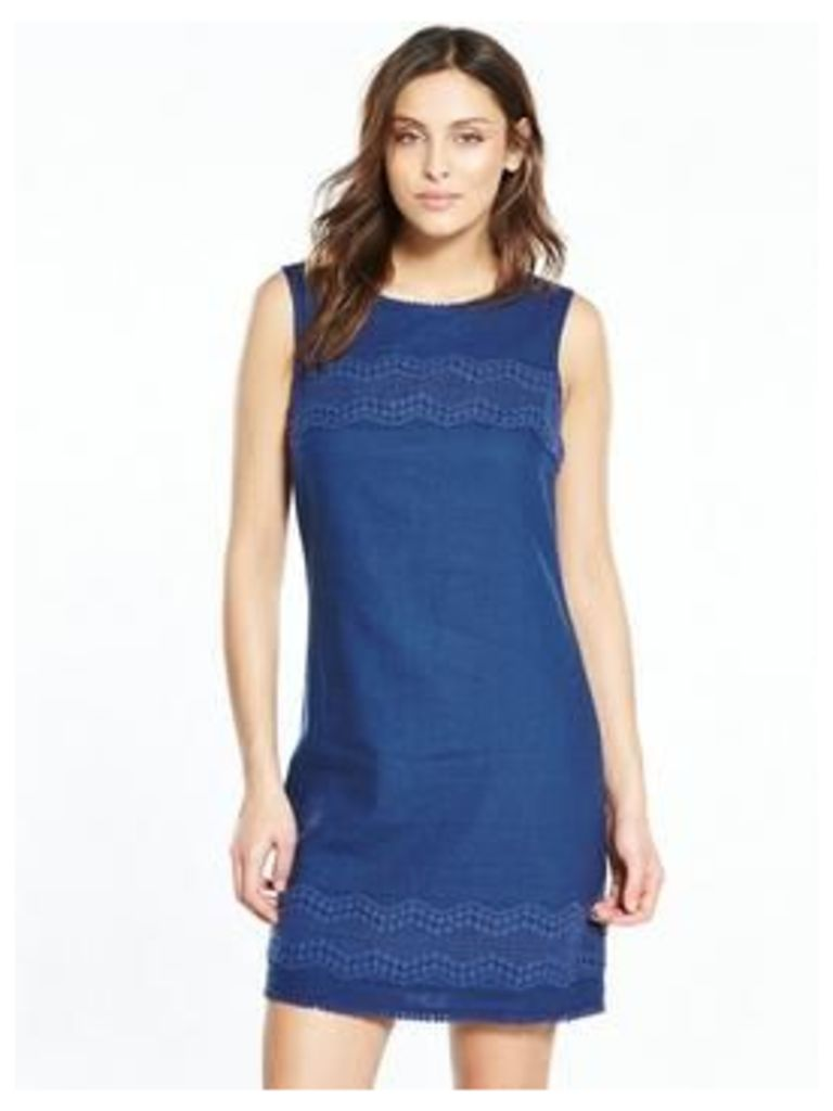 V By Very Linen Mix Dress