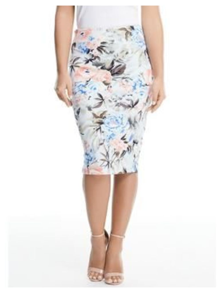 V By Very Petite Co-Ord Scuba Pencil Skirt