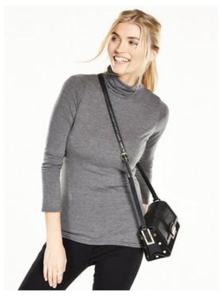 V By Very Roll Neck Long Sleeve Top