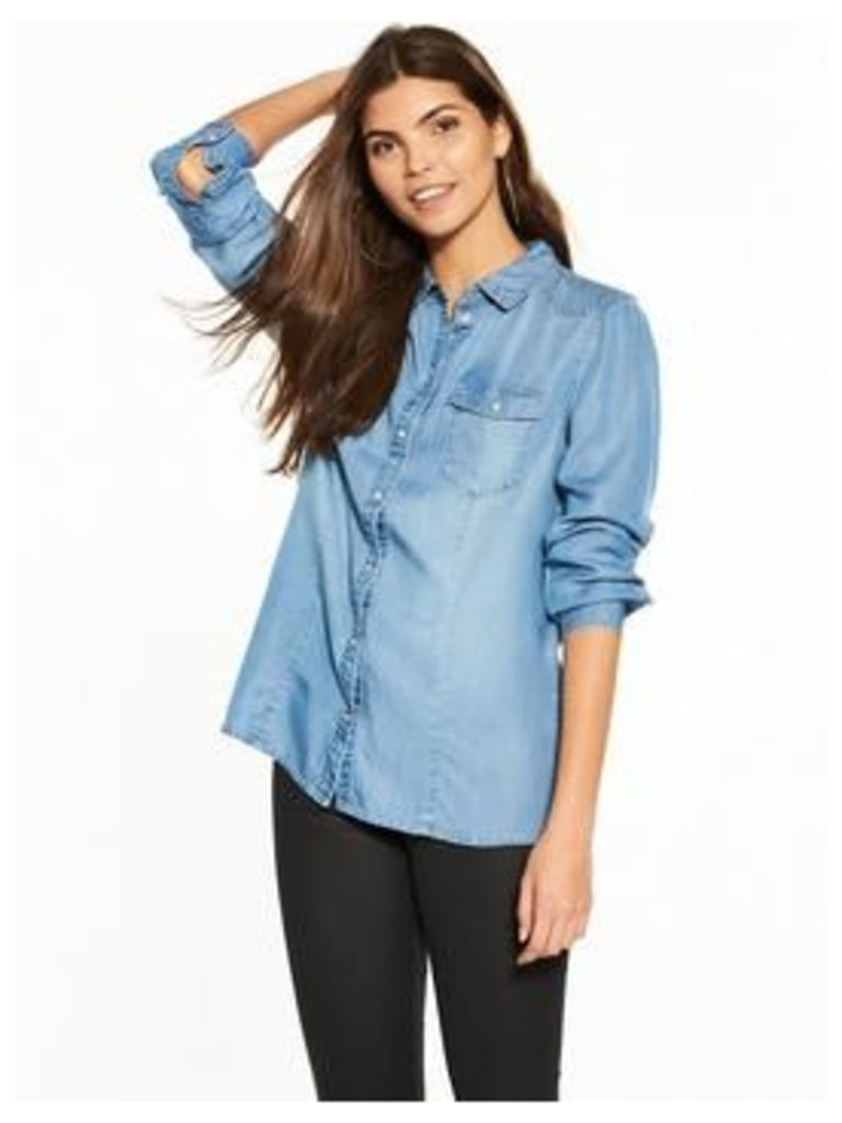 Vero Moda Long Sleeve Denim Shirt