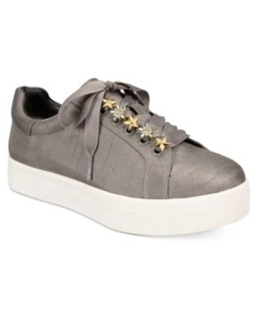Circus by Sam Edelman Shania Star Embellished Lace-Up Sneakers Women's Shoes