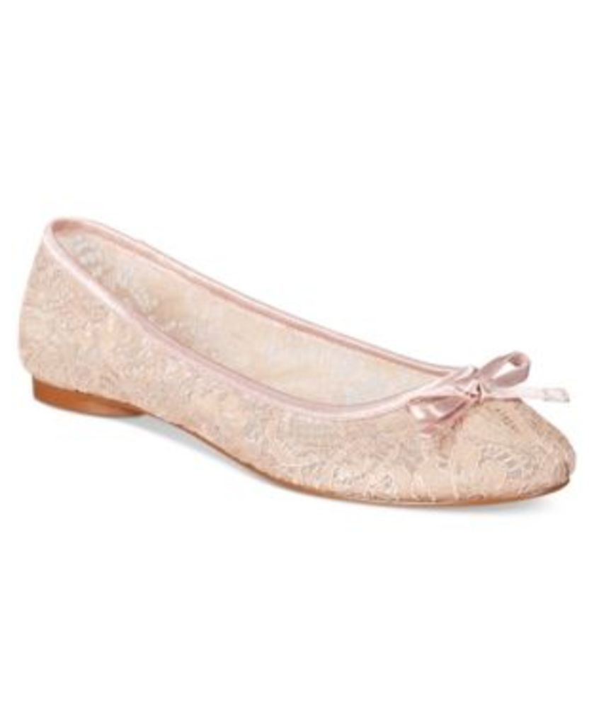 Adrianna Papell Sage Lace Evening Flats Women's Shoes