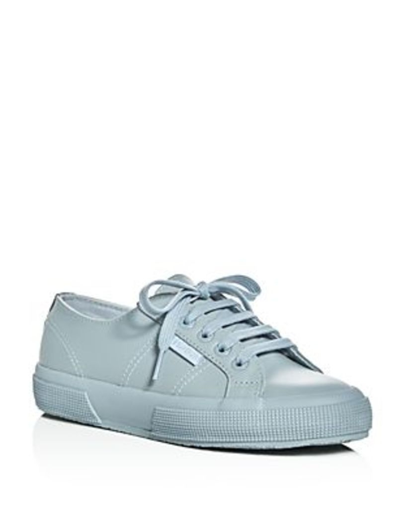 Superga Fglu Leather Lace Up Sneakers