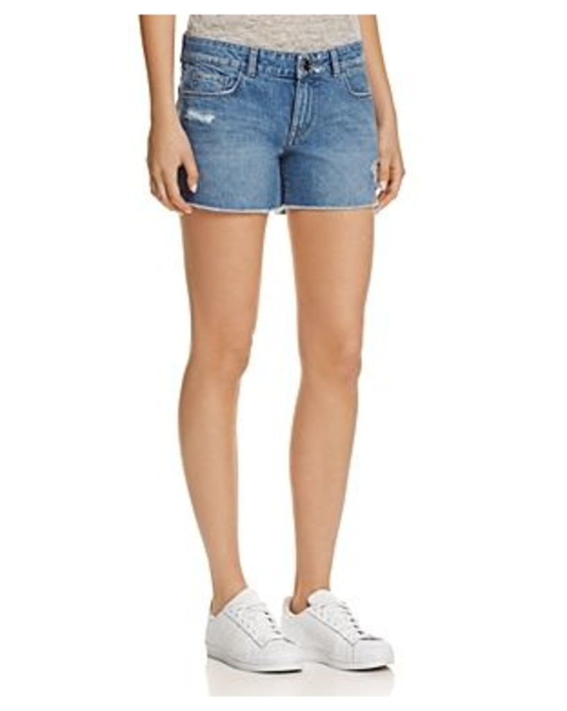 DL1961 Renee Denim Cutoff Shorts in Rocket