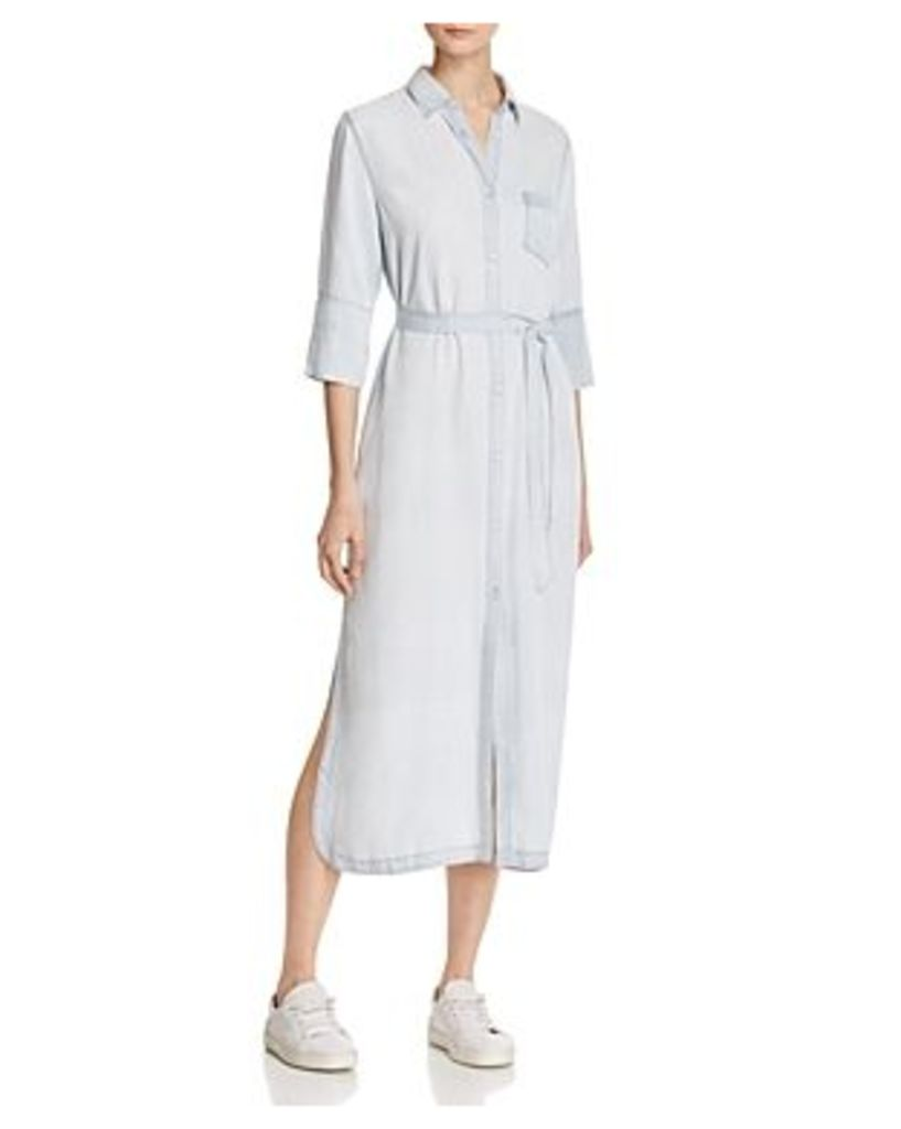 DL1961 Fire Island Chambray Shirt Dress