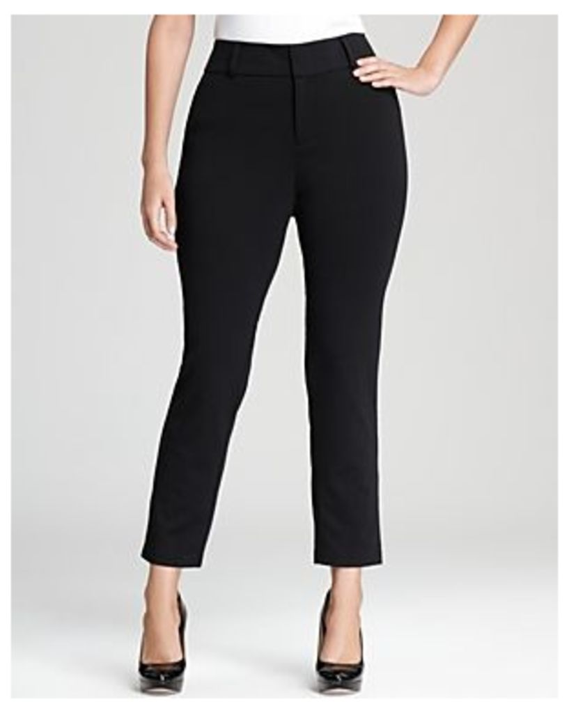 Michael Michael Kors Plus Straight Leg Ankle Pants