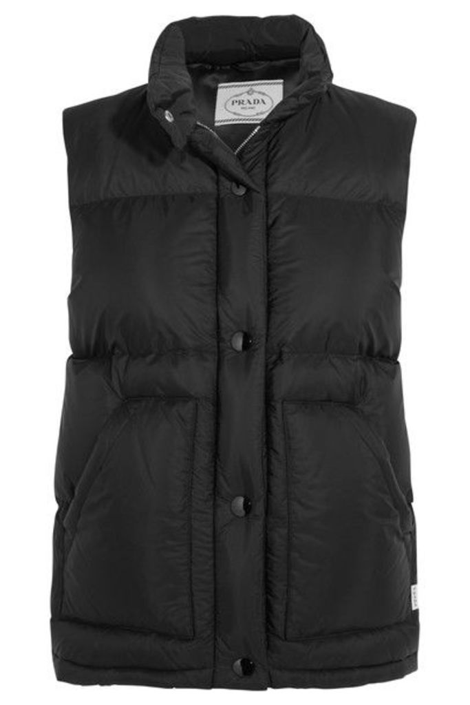 Prada - Quilted Shell Down Gilet - Black