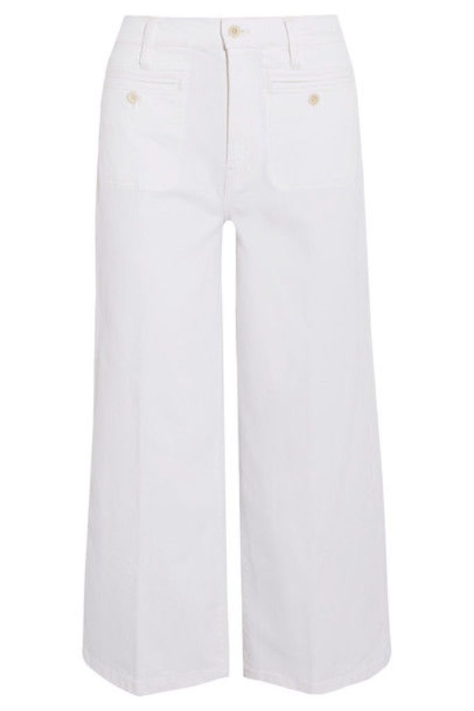 Madewell - Cropped Wide-leg Jeans - White