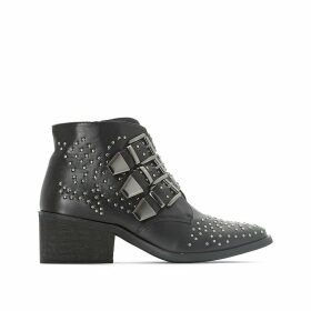 Julieta Studded Ankle Boots