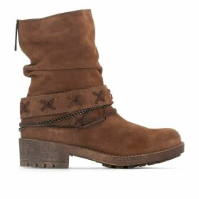 Angus Leather Ankle Boots