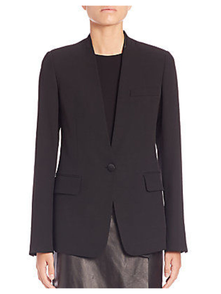 Fitted Wool Blazer
