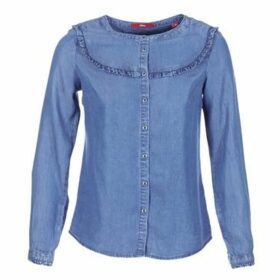 S.Oliver  DADU  women's Shirt in Blue