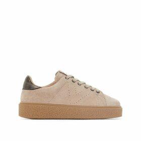 Deportivo Platform Leather Sandals