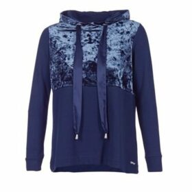 Only  VELVET  women's Sweatshirt in Blue