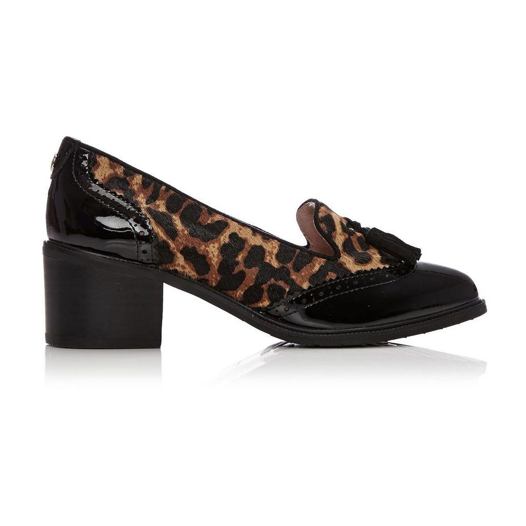 Moda in Pelle Carleah Leopard