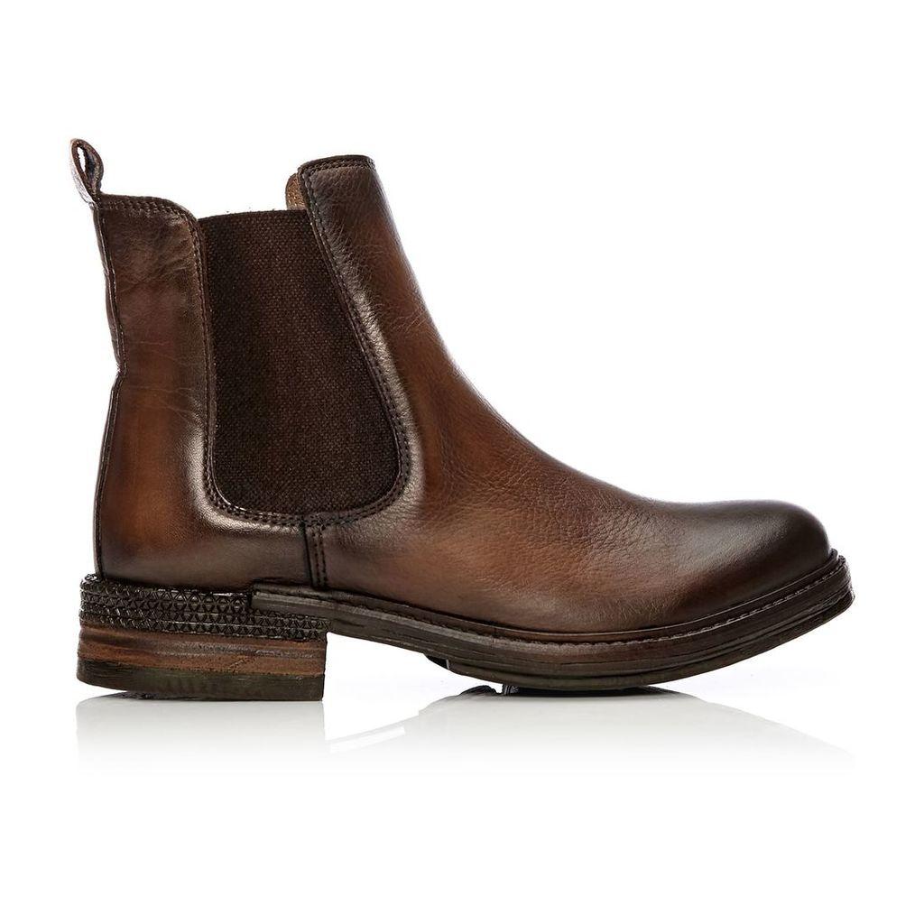 Moda in Pelle Calisian Tan Low Casual Short Boots