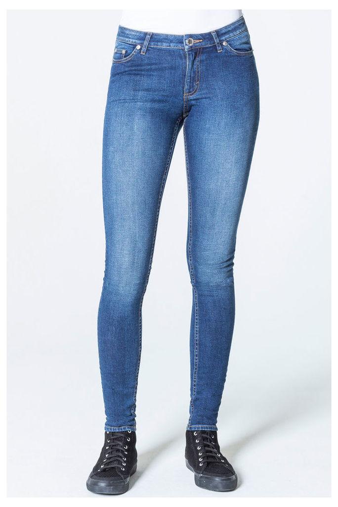 Mid Skin Blue Blue Jeans