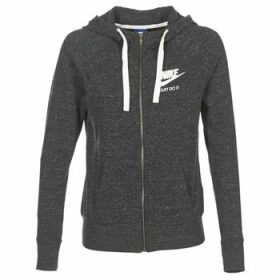 Nike  GYM VINTAGE FZ  women's Sweatshirt in Grey