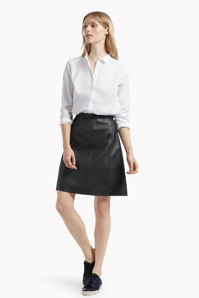 Matilda Pleather Mini Skirt
