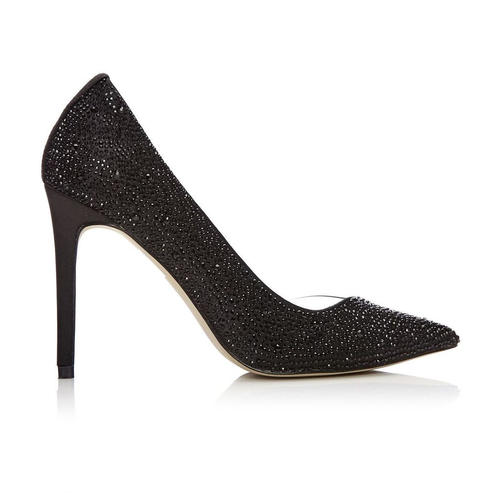 Moda in Pelle Katrina Black Very High Occasion Shoes