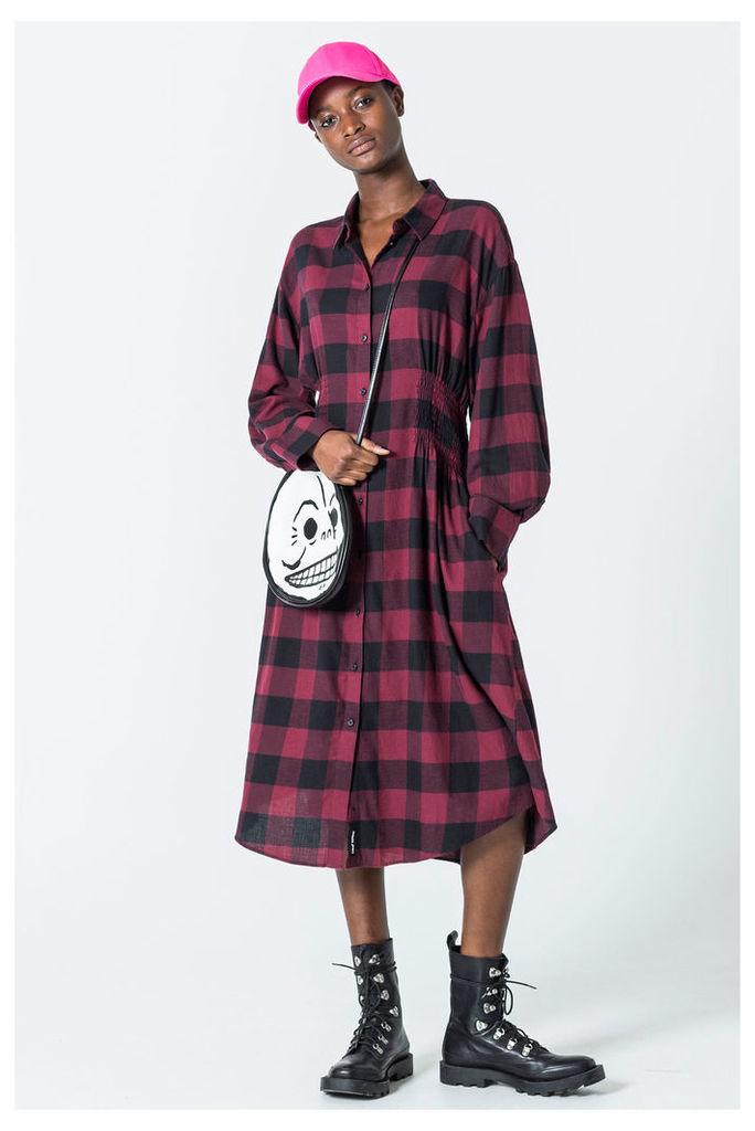 Crime Flannel Dress