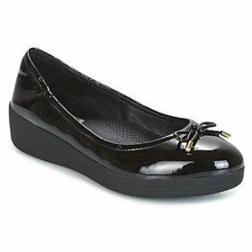 FitFlop  SUPERBENDY BALLERINAS  women's Shoes (Pumps / Ballerinas) in Black