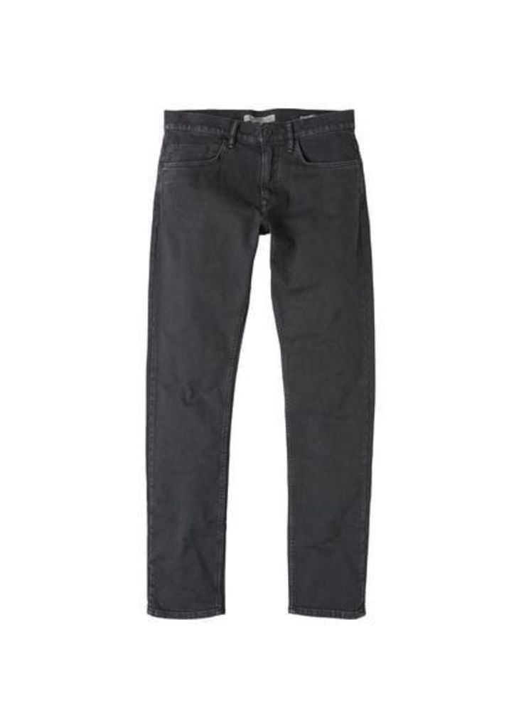 Slim-fit black Alex jeans