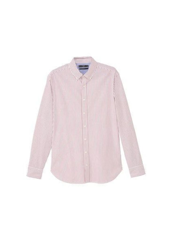 Slim-fit bengal stripe shirt