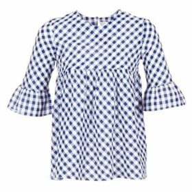 Moony Mood  HEPO  women's Blouse in Blue