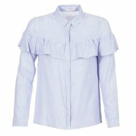 Moony Mood  HALIS  women's Shirt in Blue