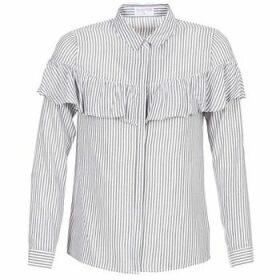 Moony Mood  HALIS  women's Shirt in White