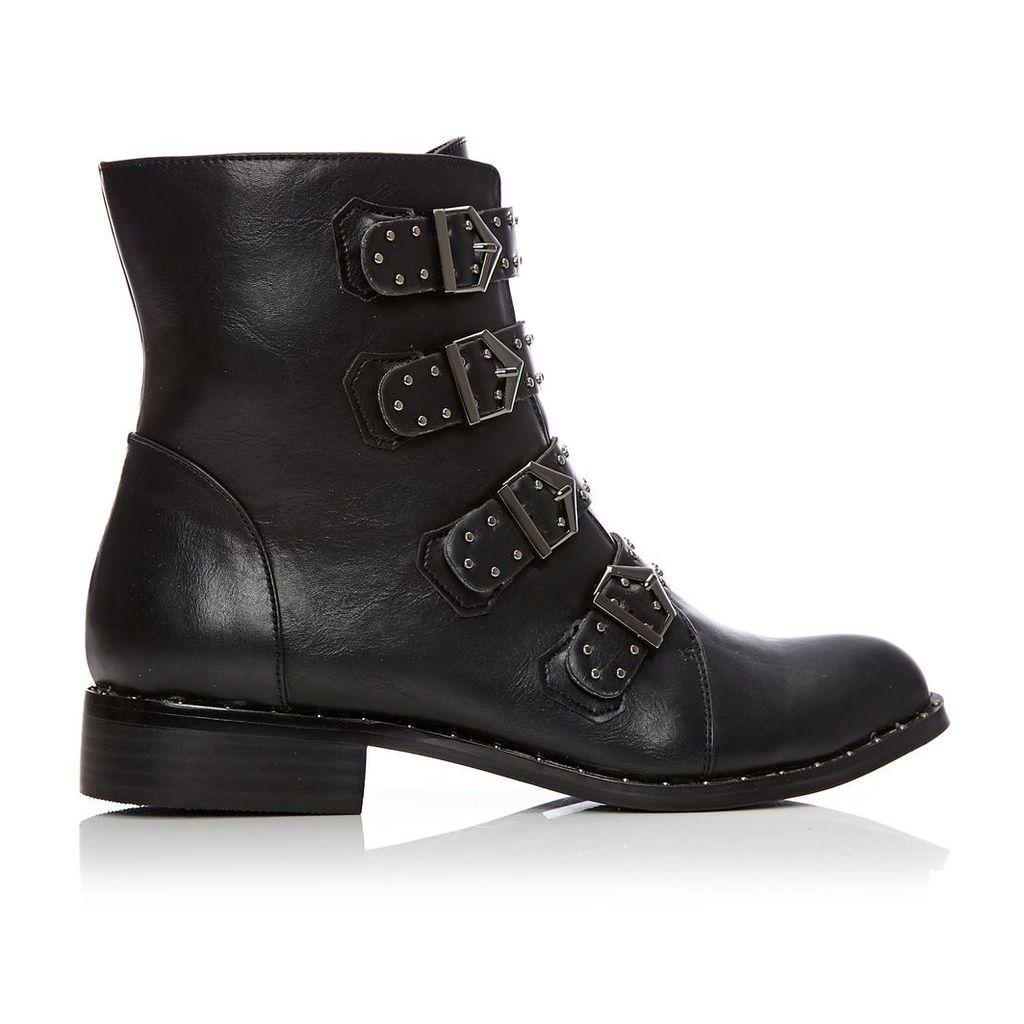 Moda in Pelle Fayah Black Low Casual Short Boots