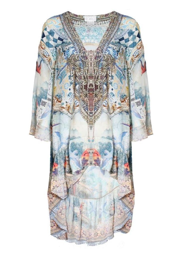 Lovers Dream Short Dress With High Low Hem