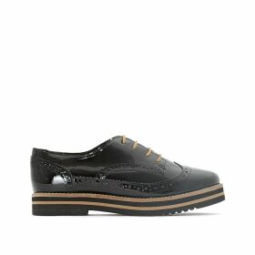 Avo Patent Leather Brogues