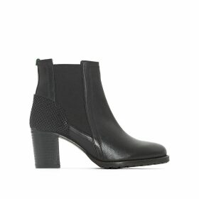 Umane Leather Ankle Boots
