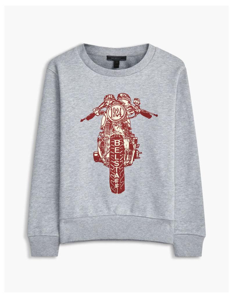 Belstaff Riley Rider Sweatshirt Grey Age