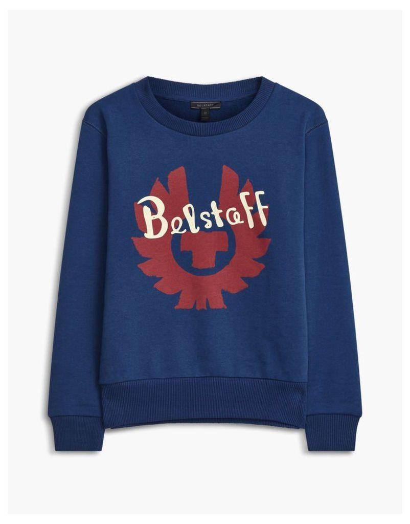 Belstaff Children's Riley Belstaff Sweatshirt Blue Age