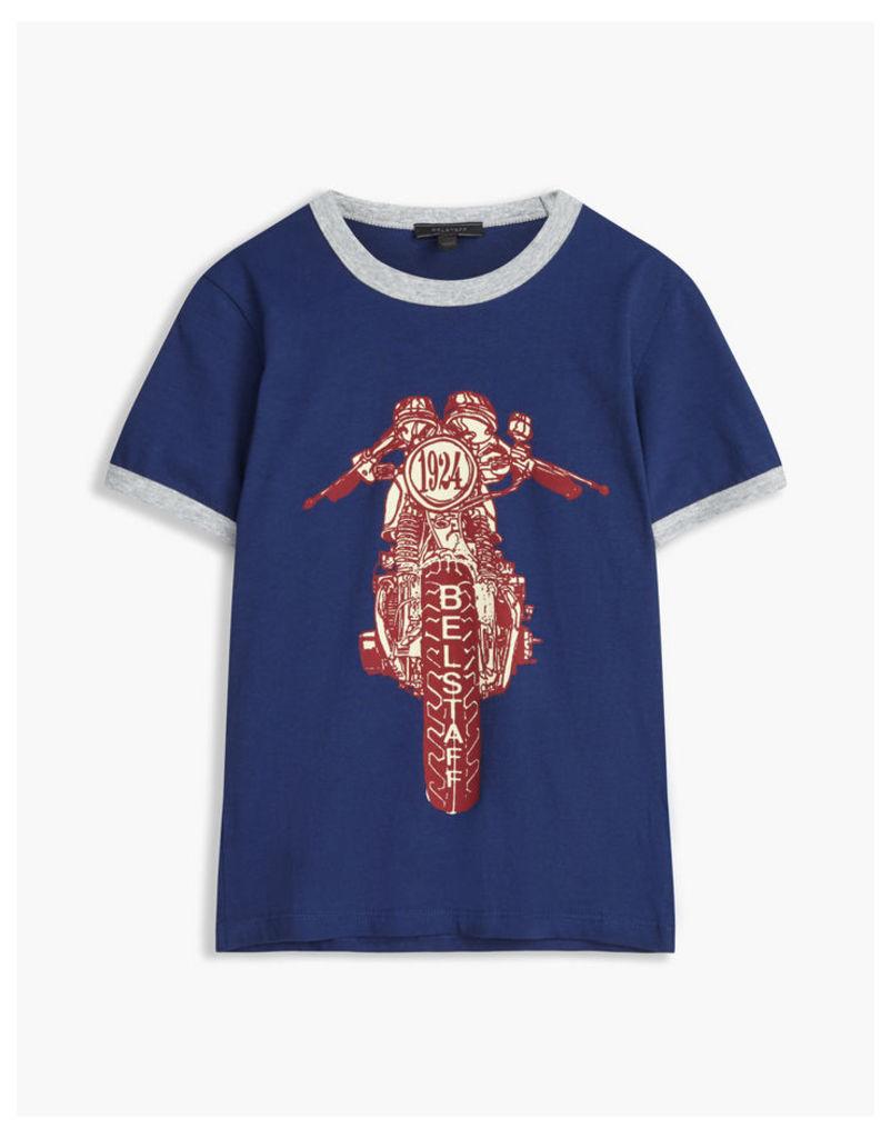 Belstaff Kid's Reeves T-Shirt Blue Age