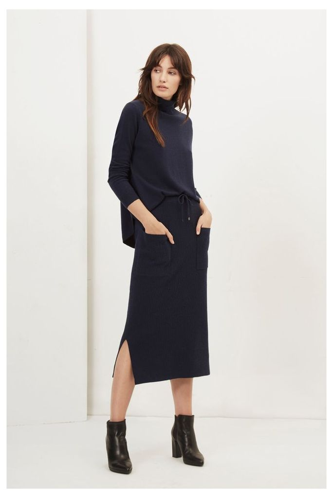 Colette Cashmere Blend Pencil Skirt
