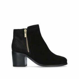 Carvela Sabel - Black Block Heel Ankle Boots