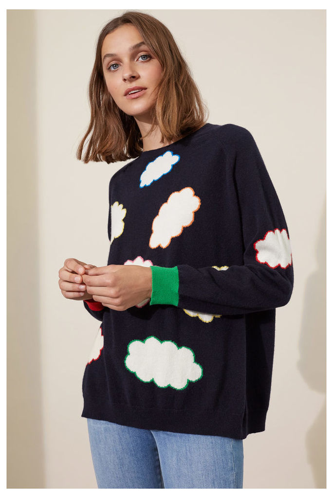 EXCLUSIVE Coloured Cloud Cashmere Sweater
