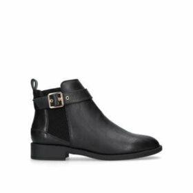 Miss Kg Jayde - Black Flat Chelsea Boots