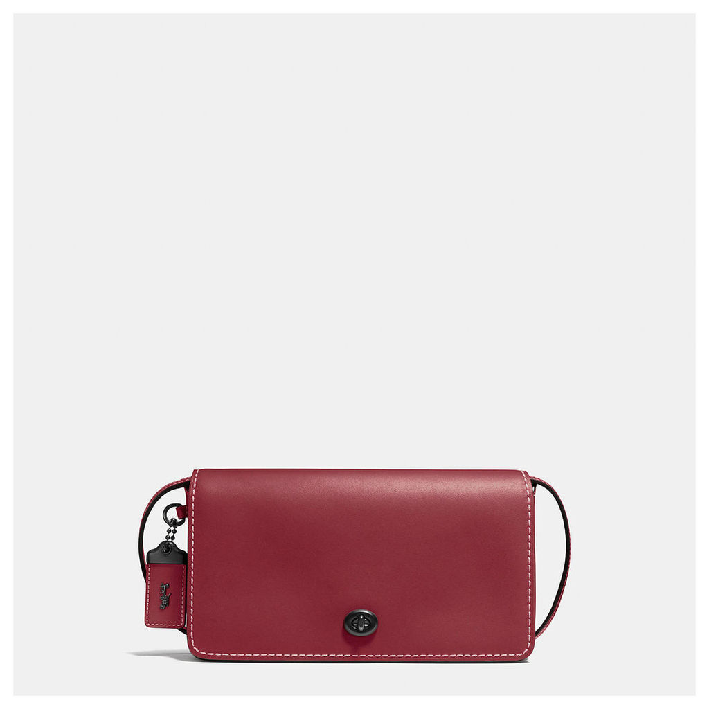 Coach Dinky Crossbody In Glovetanned Leather