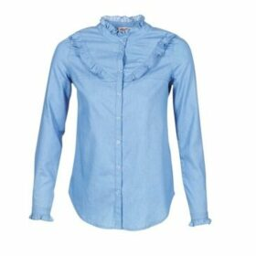 Yurban  HADON  women's Shirt in Blue