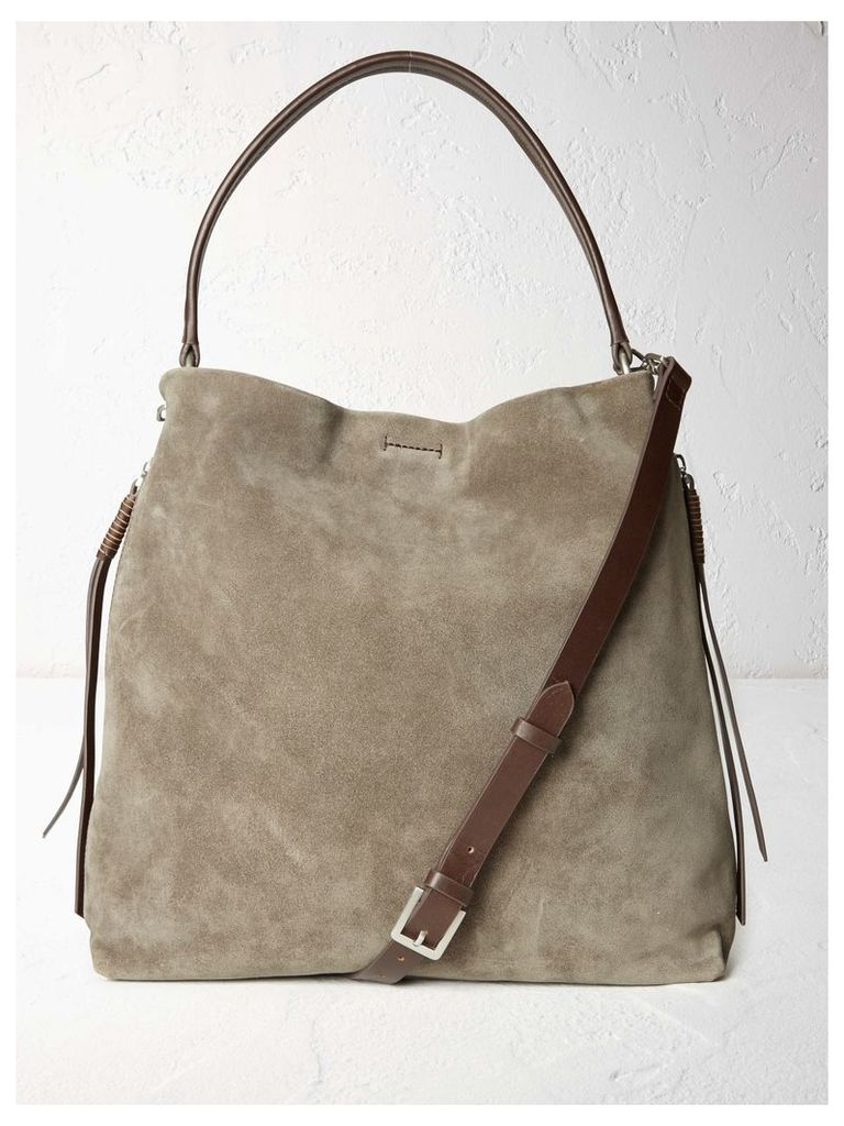 Shea Suede Hobo Bag