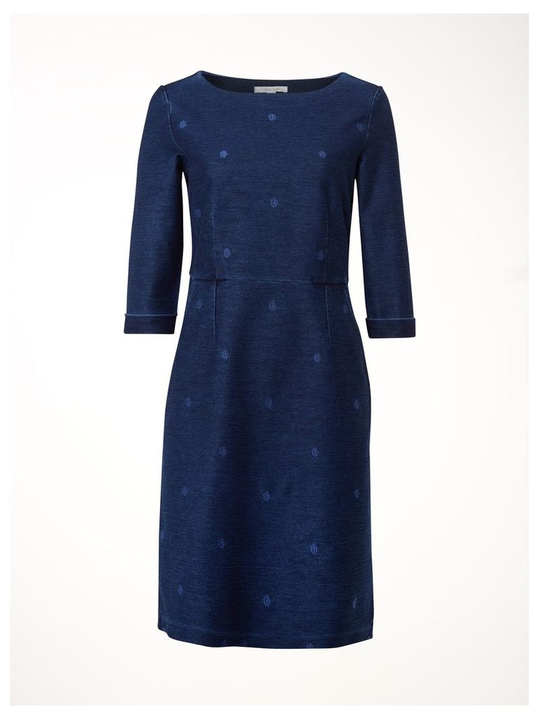 Rye Denim Spot Jersey Dress